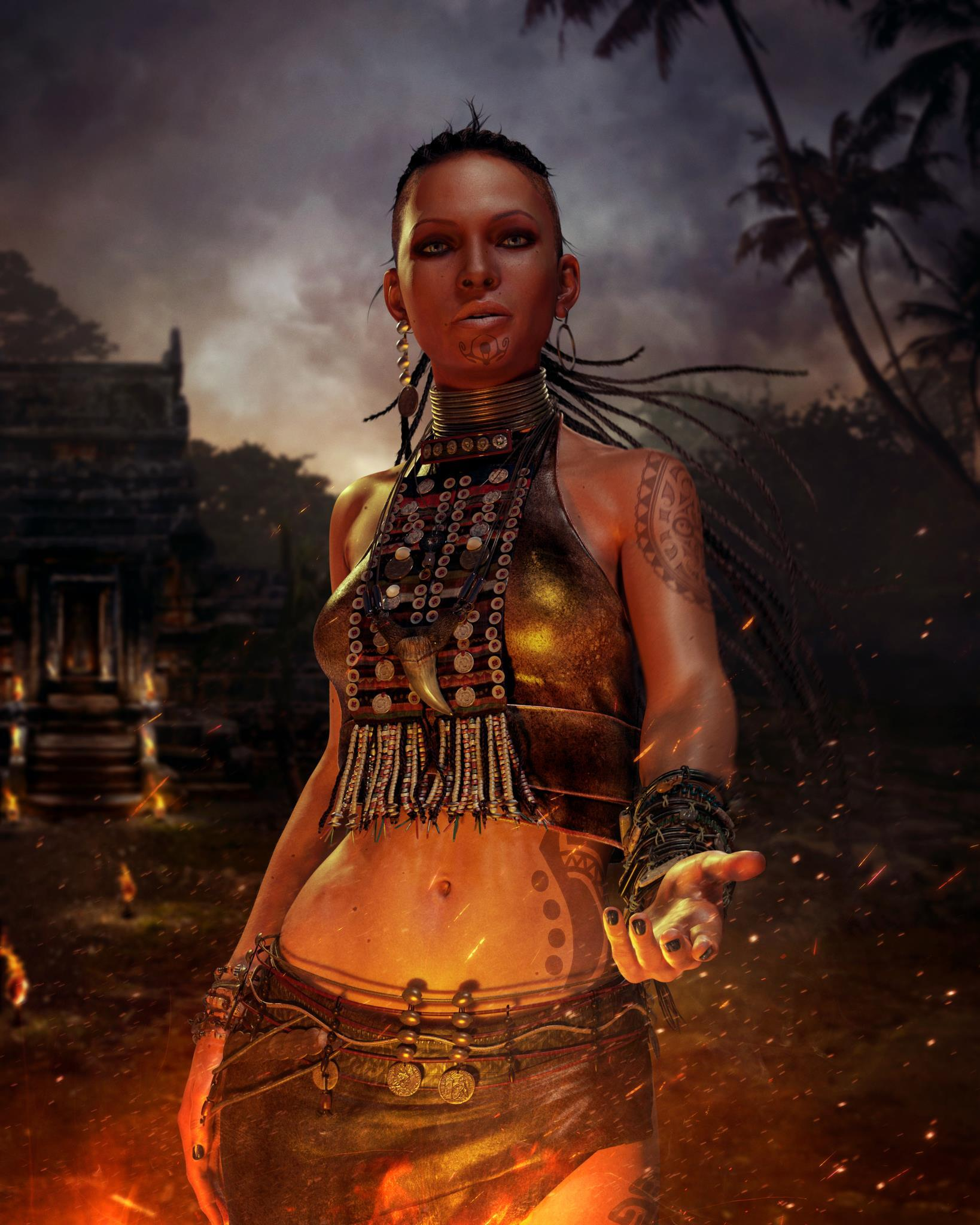 ТОП 10 красивых женских персонажей видеоигр