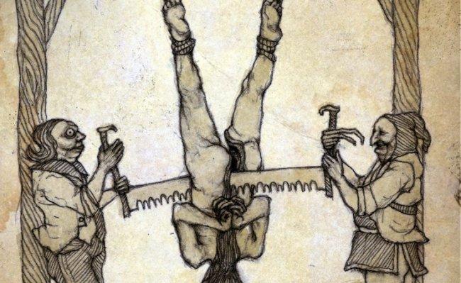ТОП 10 Самых ужасных методов казни