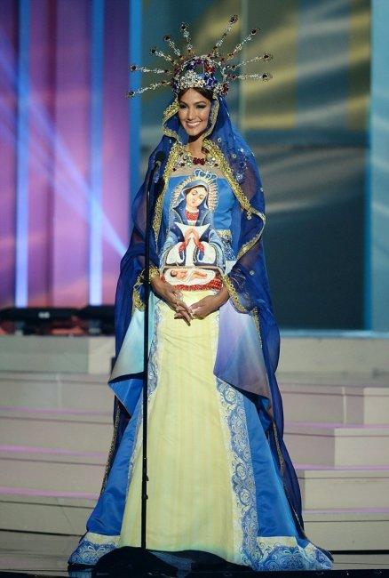 ТОП 10 Самых причудливых костюмов Мисс Вселенная