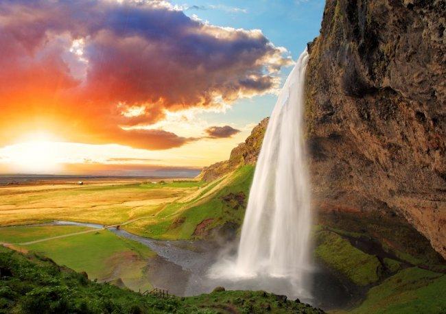 ТОП 10 Самых необычных водопадов мира