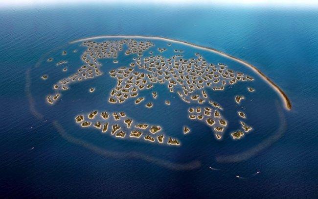ТОП 10 Удивительных искусственных островов