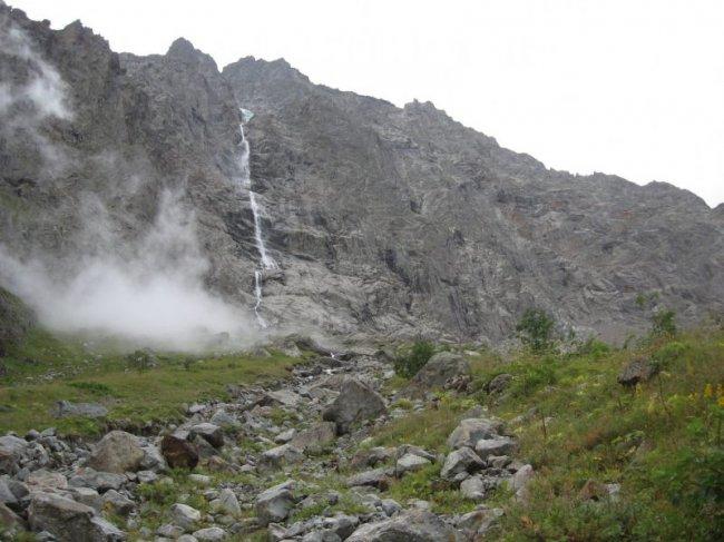 Самый высокий водопад в России