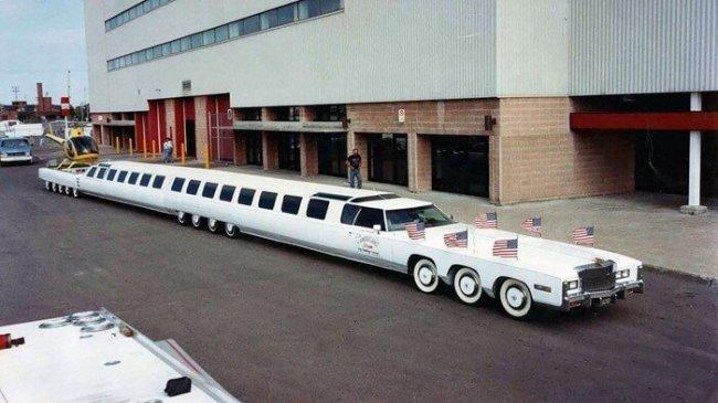 ТОП 10 Самый длинный автомобиль в мире