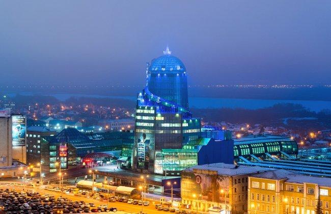Самые большие города России по площади и населению