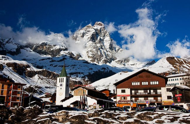 Лучшие горнолыжные курорты Европы