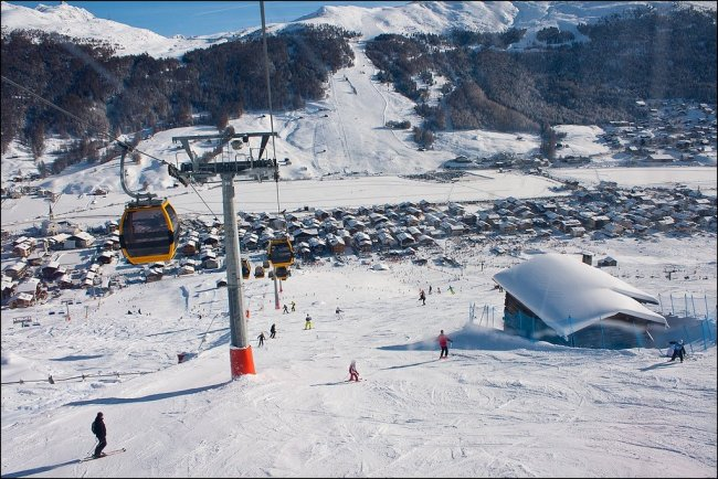 Лучшие горнолыжные курорты Италии