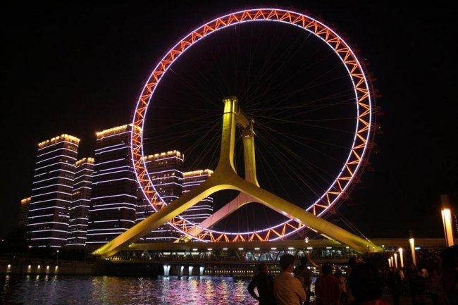 Самое высокое колесо обозрения в мире
