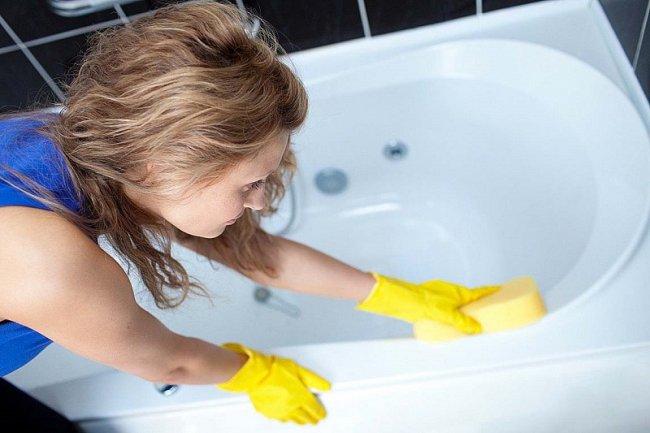 ТОП 10 Лучшие средства для чистки ванны