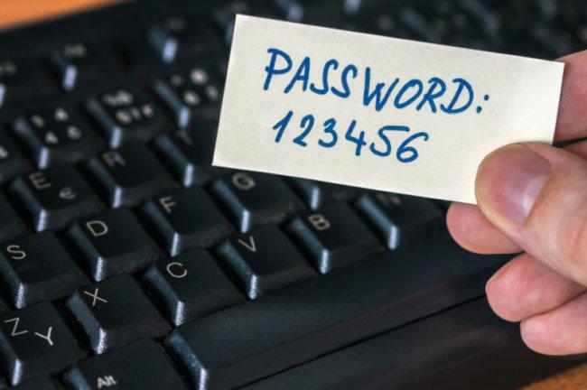 ТОП 10 Самых распространенных паролей