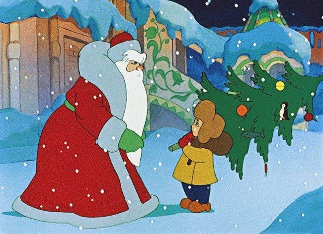 ТОП 10 Советские мультфильмы про Новый год