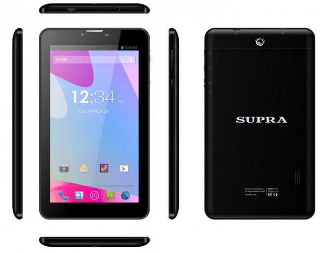 Лучшие планшеты SUPRA 2019 года