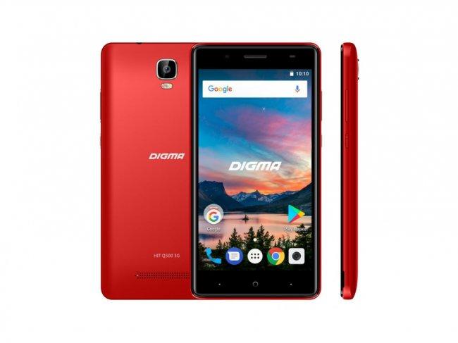 Лучшие смартфоны Digma